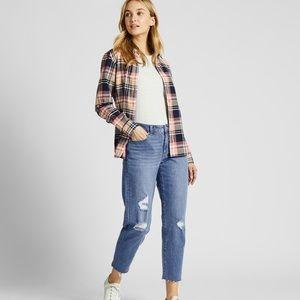 Uniqlo High Rise Boyfriend fit jeans
